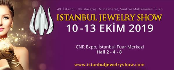 Ülkemizin en büyük mücevher ve takı fuarı Istanbul Jewelry Show!