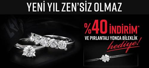 Pırlantalı mücevherin lider markası Zen Pırlanta