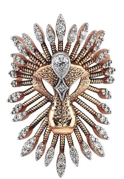 Kısmet by Milka'nın ikonik tasarımı aslan yüzük